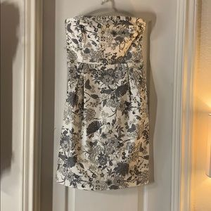 NWT Old Navy Floral Strapless Dress
